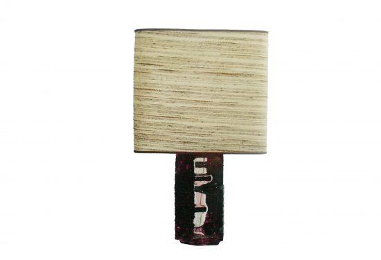 Daum table lamp crystal  Caesar