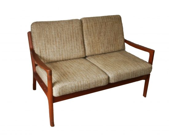 Ole Wanscher Teak Senator Sofa for France & Son 1