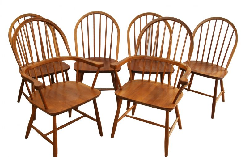 Tarm Stole Danish Teak 60s Dining Chairs 1