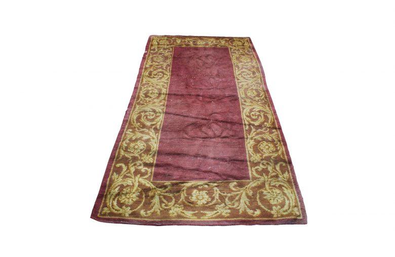 antique Burgos rug