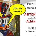 Einladung Pop Art Ausstellung