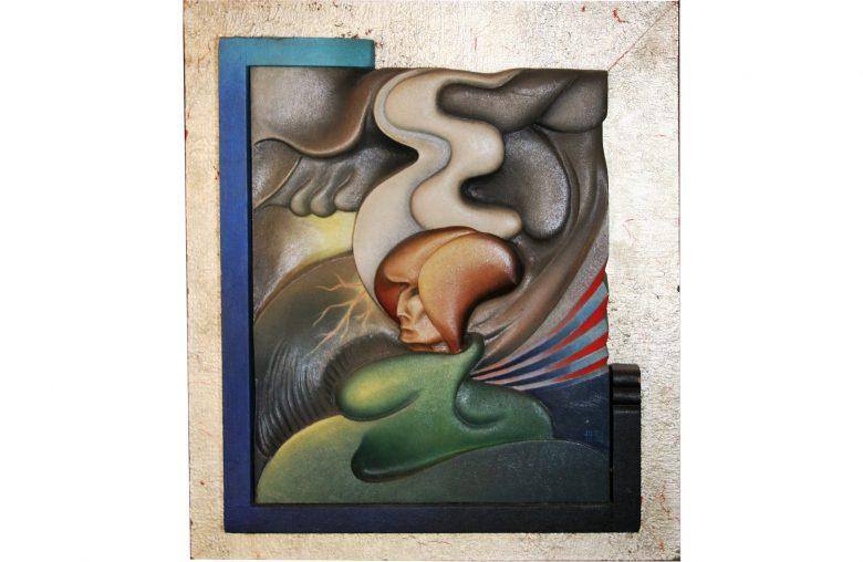 Johannes Antonius Bakkers Holzrelief 1932