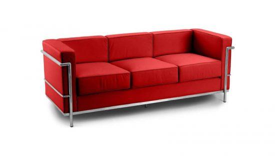 LC2 Sofa 3-Sitzer